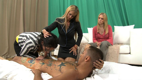 clothed-ladies-take-advantage-of-a-naked-dude